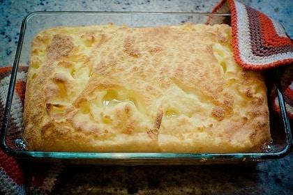 Soufflé de polenta