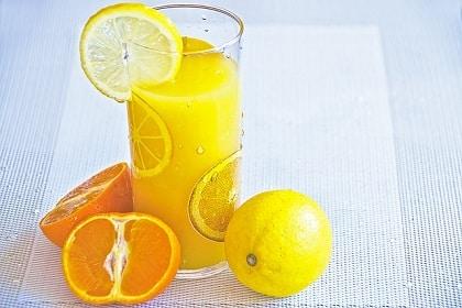 Jus d'orange et de citron